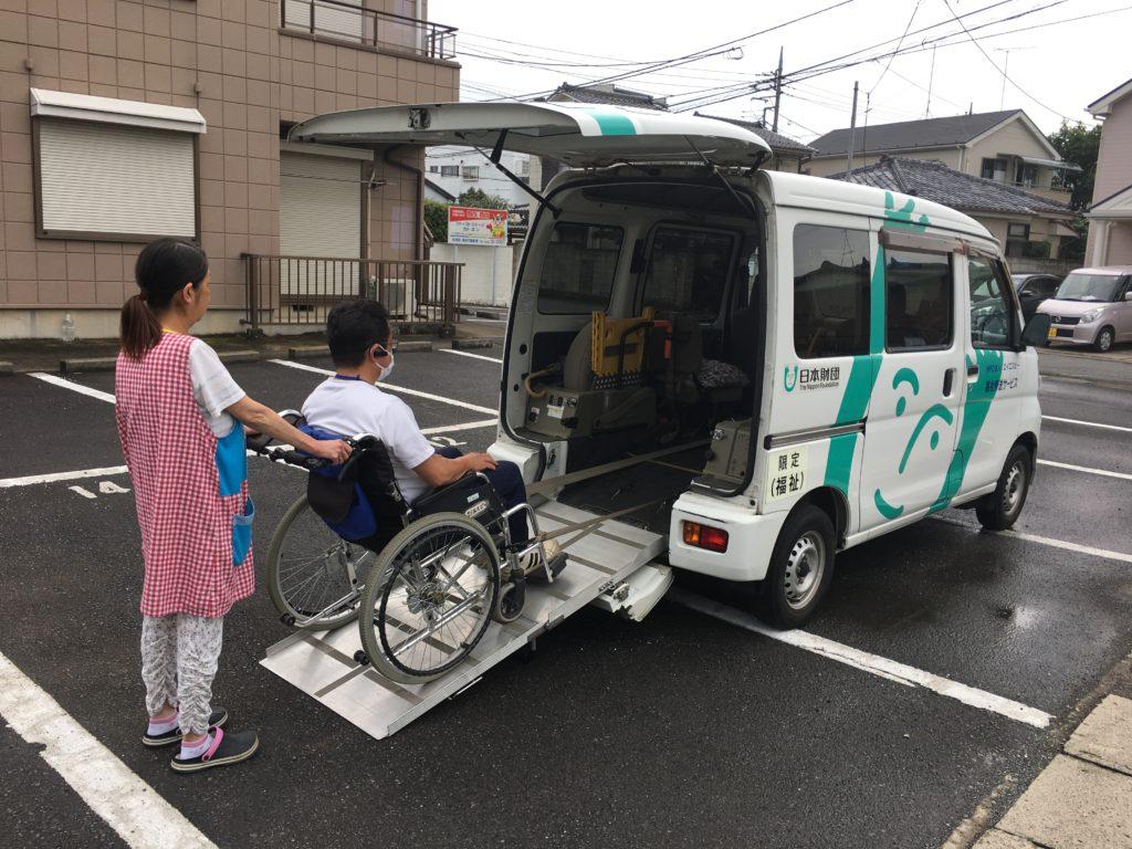 移送サービス福祉車両